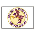 Byrd High Yellow Jackets Banner