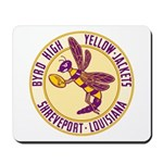 Byrd High Yellow Jackets Mousepad