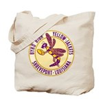 Byrd High Yellow Jackets Tote Bag