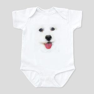 Bichon face Infant Creeper