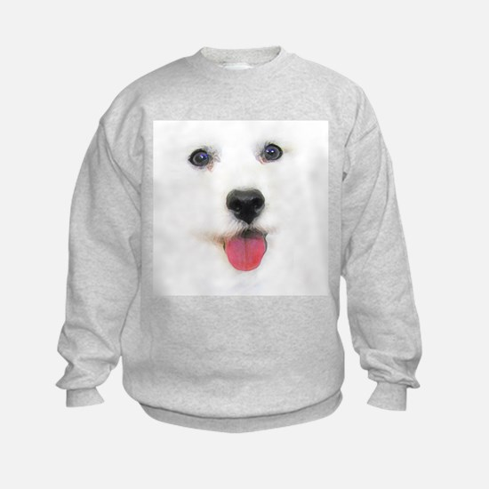 Bichon face Sweatshirt