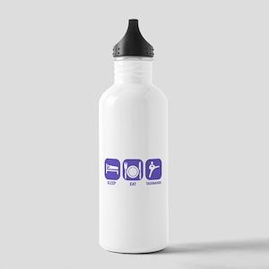 Sleep Eat Taekwando Stainless Water Bottle 1.0L