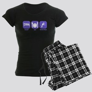 Sleep Eat Waterpolo Women's Dark Pajamas