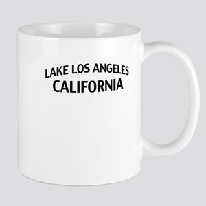 Lake Los Angeles California Mug