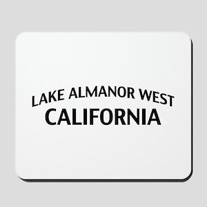 Lake Almanor West California Mousepad