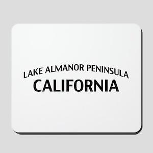 Lake Almanor Peninsula California Mousepad