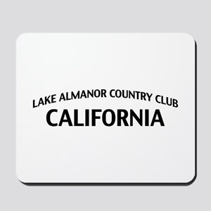 Lake Almanor Country Club California Mousepad