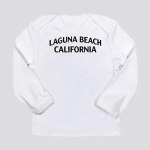Laguna Beach California Long Sleeve Infant T-Shirt