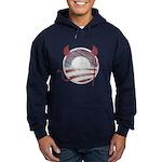Obama Devil Vintage Hoodie (dark)