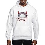 Obama Devil Vintage Hooded Sweatshirt