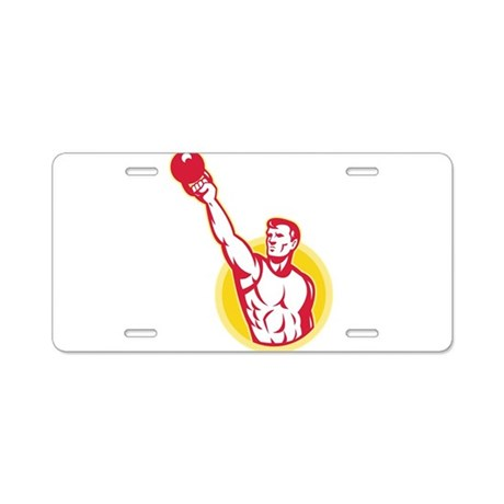 Kettlebell Exercise Weight Aluminum License Plate