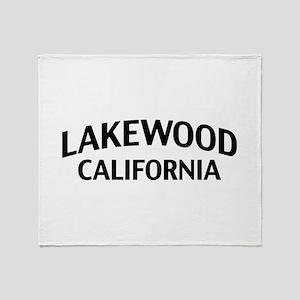 Lakewood California Throw Blanket
