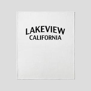 Lakeview California Throw Blanket