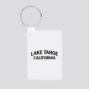 Lake Tahoe California Aluminum Photo Keychain