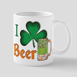 I Shamrock Beer Mug