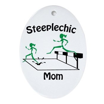 SteepleChics Oval Ornament