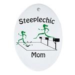 SteepleChics Oval Ornament