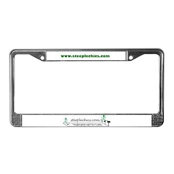 SteepleChics License Plate Frame