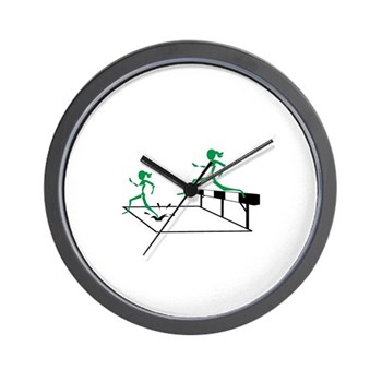 SteepleChics Wall Clock