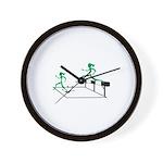 SteepleChics Wall Clock