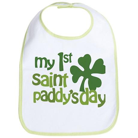 1st St. Patrick's Day Bib