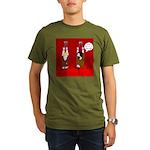 Dry Heat Organic Men's T-Shirt (dark)