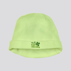 1st St. Patrick's Day baby hat