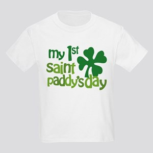 1st St. Patrick's Day Kids Light T-Shirt