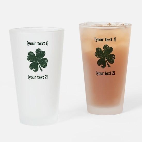 Universal St. Patty's Day Drinking Glass