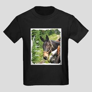 Smiling Mule Kids Dark T-Shirt