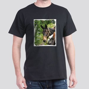 Smiling Mule Dark T-Shirt