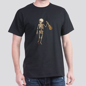 Ukulele Skeleton Dark T-Shirt