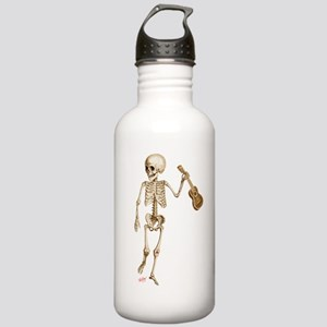 Ukulele Skeleton Stainless Water Bottle 1.0L