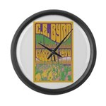 Byrd Class of '70 Reunion Large Wall Clock
