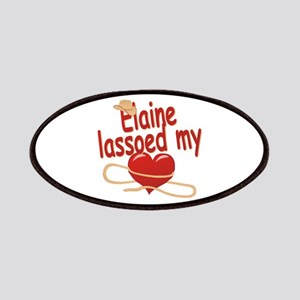 Elaine Lassoed My Heart Patches