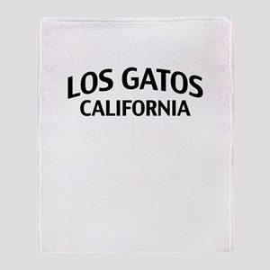 Los Gatos California Throw Blanket