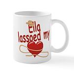 Ella Lassoed My Heart Mug