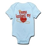 Emma Lassoed My Heart Infant Bodysuit
