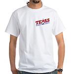 Texas Sled Hockey White T-Shirt