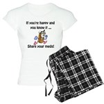 Share Your Meds Women's Light Pajamas