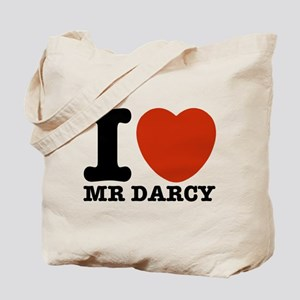 I Love Darcy - Jane Austen Tote Bag