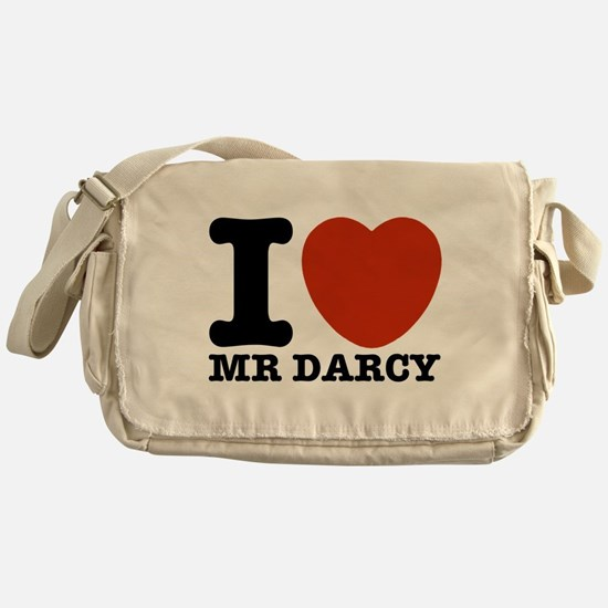 I Love Darcy - Jane Austen Messenger Bag