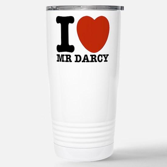 I Love Darcy - Jane Austen Stainless Steel Travel
