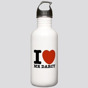 I Love Darcy - Jane Austen Stainless Water Bottle