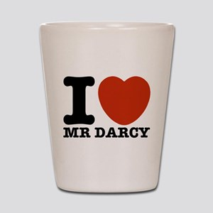 I Love Darcy - Jane Austen Shot Glass