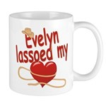Evelyn Lassoed My Heart Mug