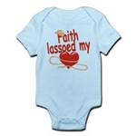 Faith Lassoed My Heart Infant Bodysuit