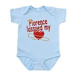 Florence Lassoed My Heart Infant Bodysuit