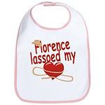 Florence Lassoed My Heart Bib