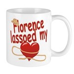 Florence Lassoed My Heart Mug